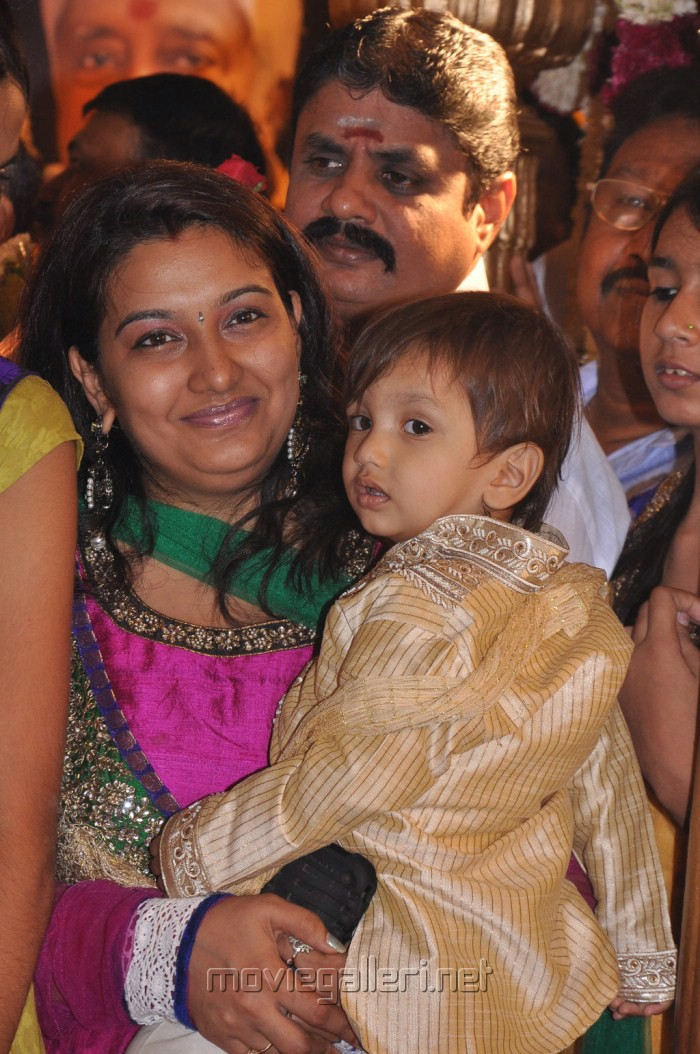Actor Jeeva Wife Supriya with Baby Boy Photos