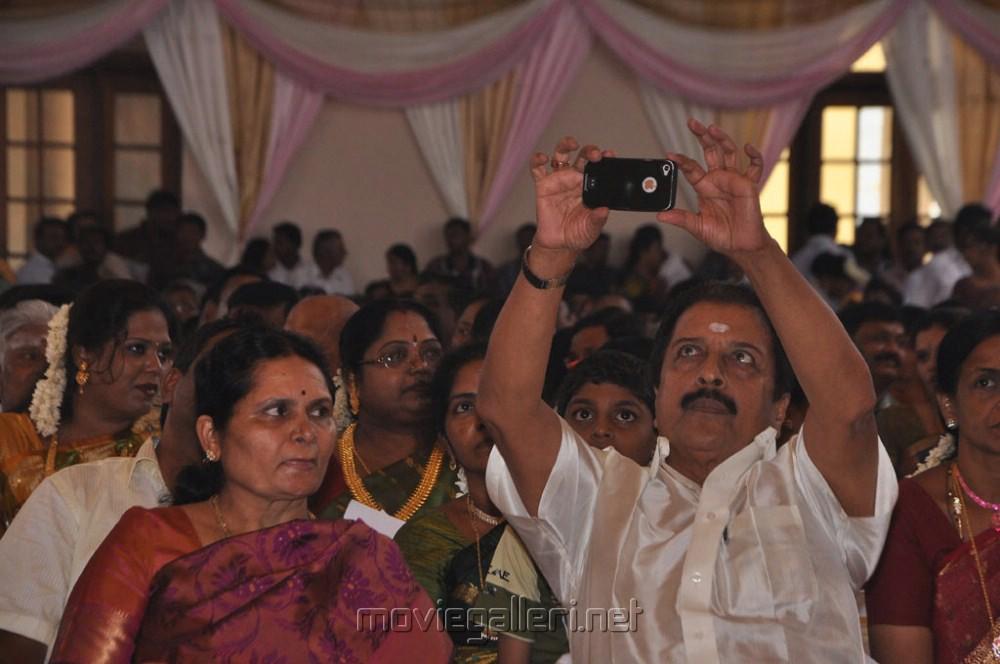 Sivakumar Wife Lakshmi Lakshmi Sivakumar Photos at ks