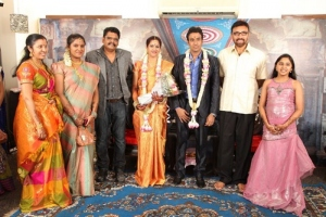 Sathyaraj at KS Ravikumar Daughter Wedding Reception Photos