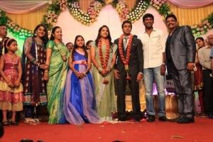 Vishal at KS Ravikumar Daughter Wedding Reception Photos