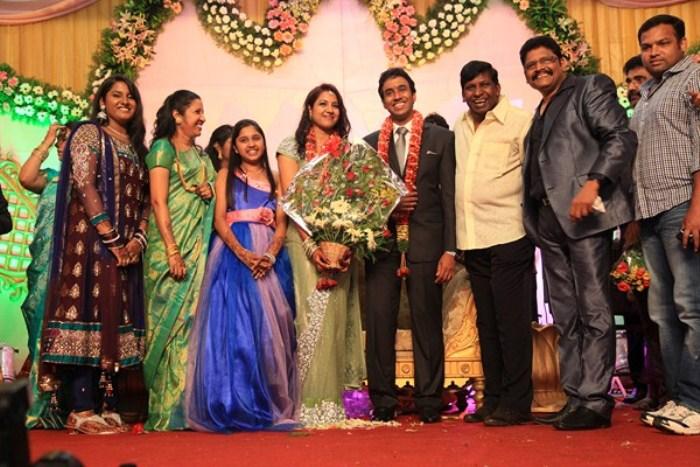 Picture 221696 | Vadivelu at KS Ravikumar Daughter Wedding ... Vadivelu Daughter Kavya Marriage