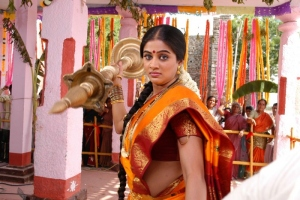 Priyamani in Saree @ Kshetram Movie Stills