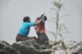 Vikram Prabhu, Lakshmi Menon at Kumki Shooting Spot Stills