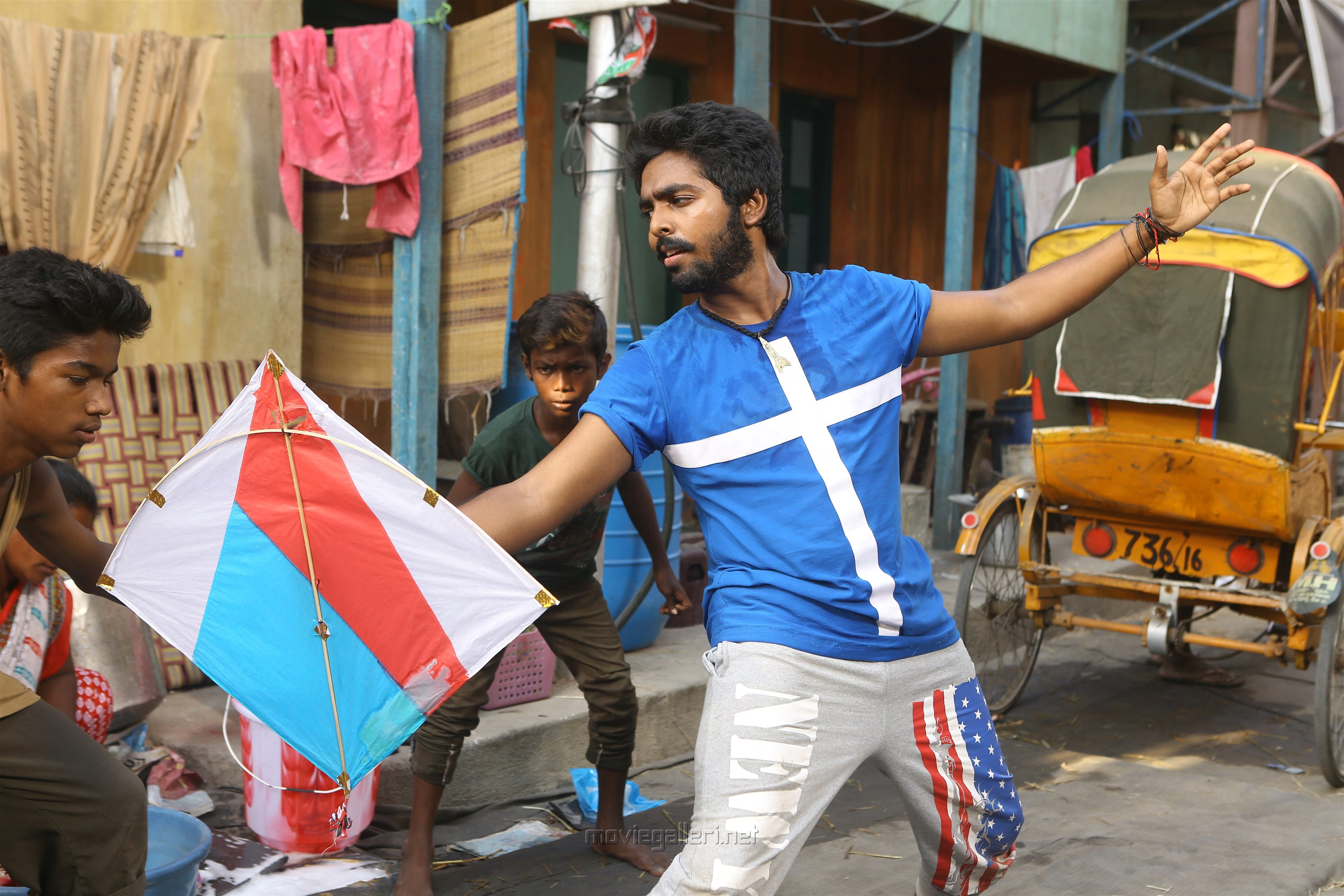 Actor GV Prakash in Kuppathu Raja Movie Stills HD