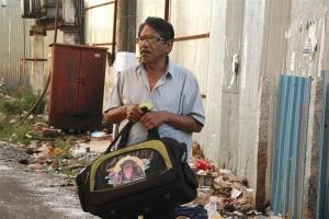 Director P Bharathiraja in Kurangu Bommai Movie Stills