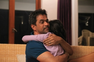 Arjun, Baby Swaksha in Kurukshetram Movie Stills HD
