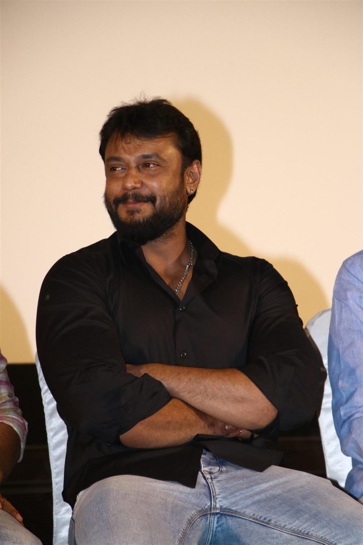 Actor Darshan @ Kurukshetram Movie Press Meet Photos