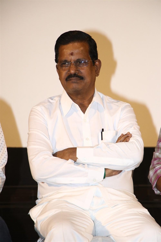Kalaipuli S Thanu @ Kurukshetram Movie Press Meet Photos
