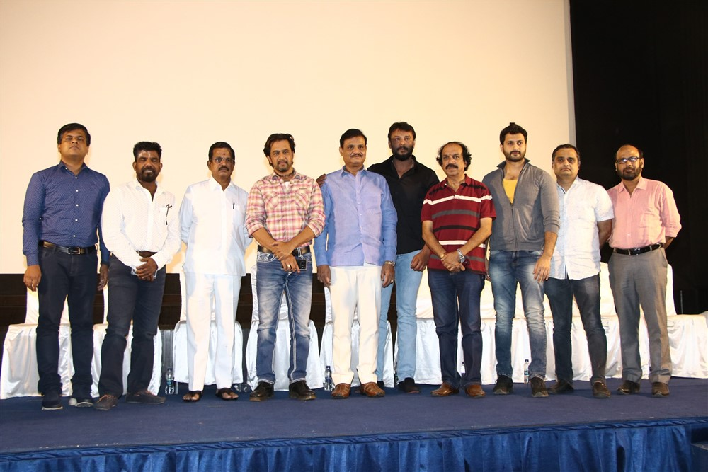 Kurukshetram Movie Press Meet Photos