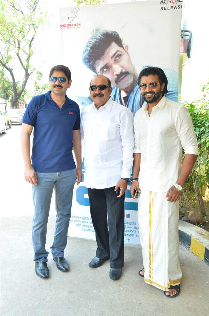 Vijayakumar, Arun Vijay @ Kuttram 23 Movie Success Meet Stills