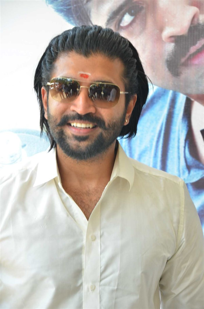 Actor Arun Vijay @ Kuttram 23 Movie Success Meet Stills