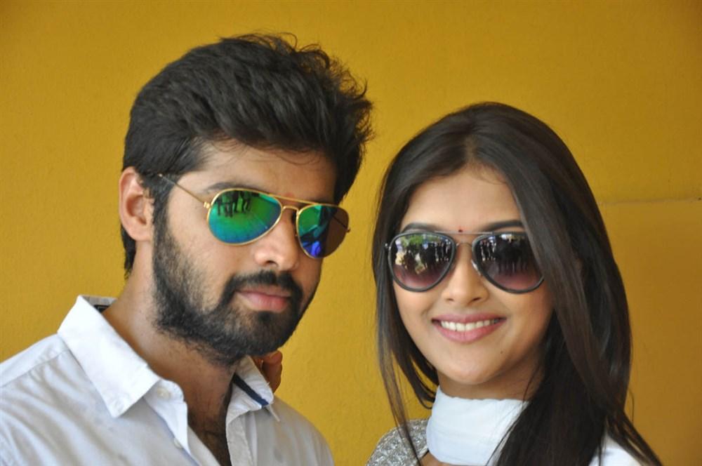 Adith Arun, Pooja Jhaveri @ L7 Telugu Movie Launch Stills