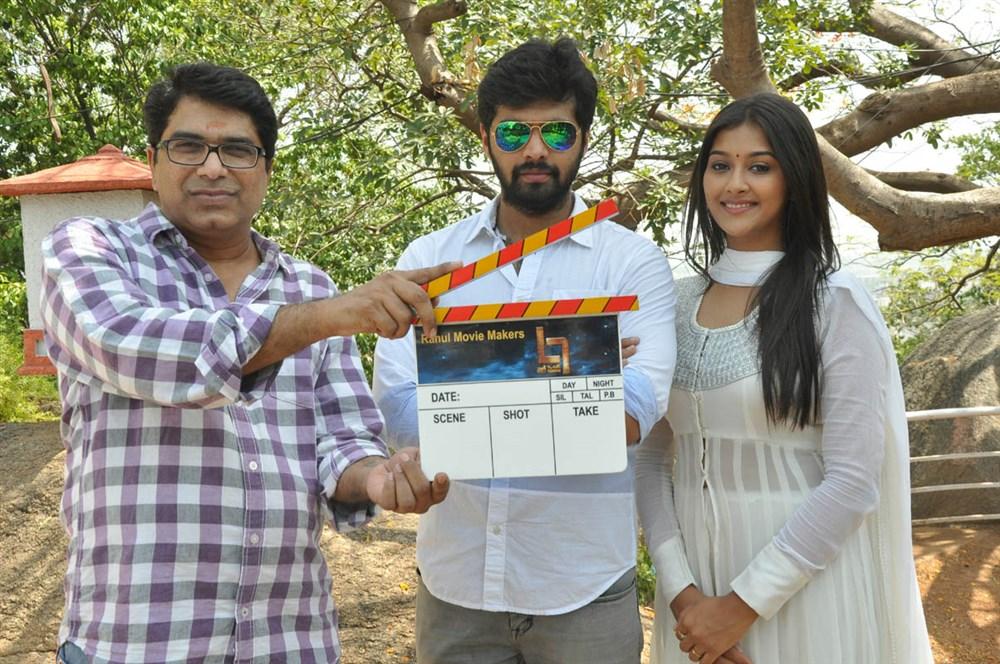 Dasarath, Adith Arun, Pooja Jhaveri @ L7 Telugu Movie Launch Stills