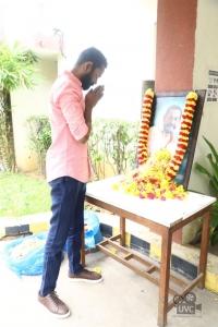 Actor Ramesh Thilak @ Laabam Movie Trailer Launch Stills