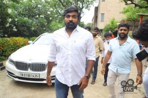 Hero Vijay Sethupathi @ Laabam Movie Trailer Launch Stills