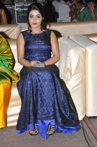Actress Poorna @ Laddu Babu Audio Launch Function Stills