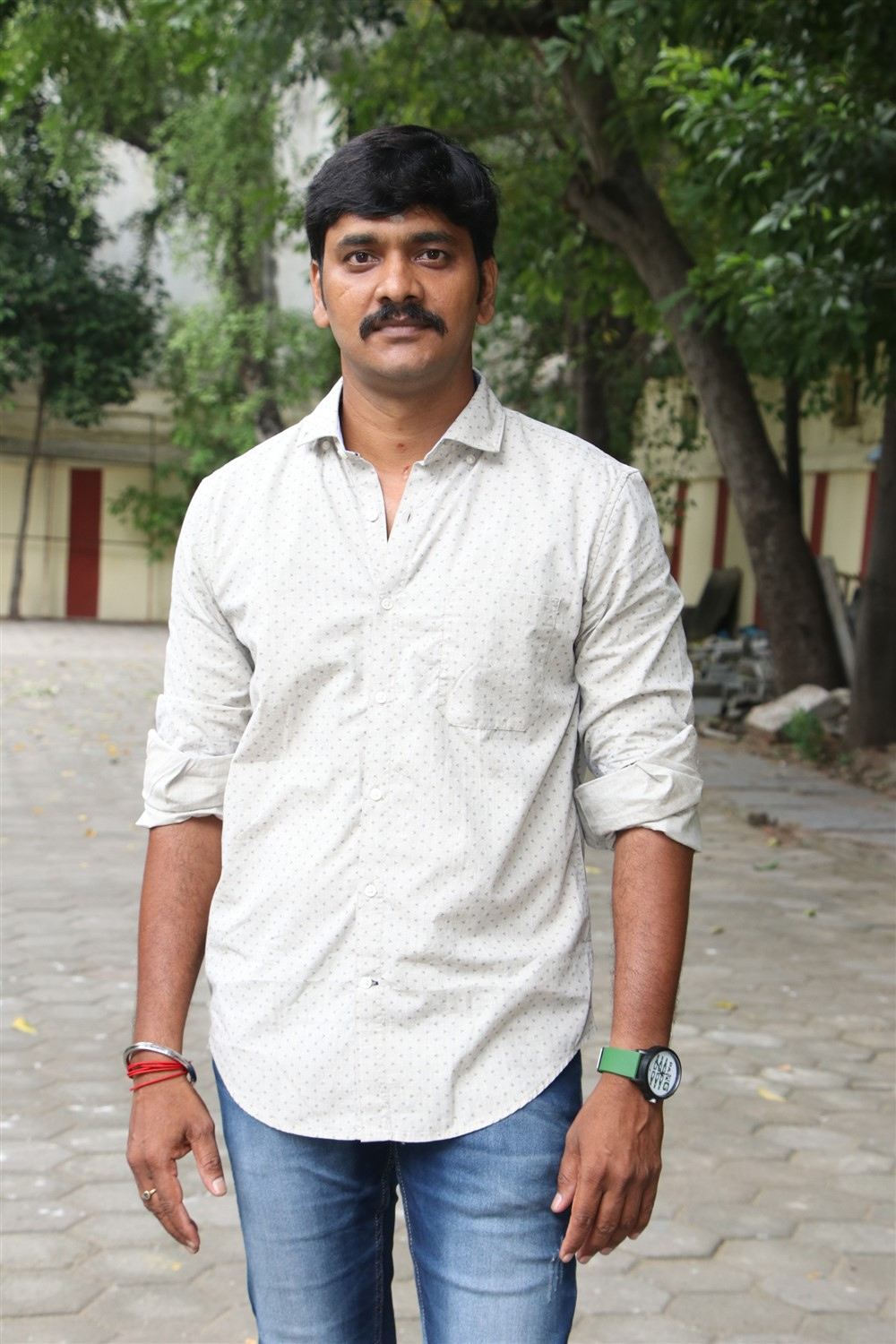 Actor Guna Anbu @ Laddu Movie Pooja Stills