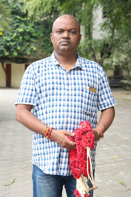 Music Director AK Rishaal Shai @ Laddu Movie Pooja Stills