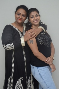 Shakeela, Geethanjali @ Ladies Not Allowed Movie Trailer Launch Stills