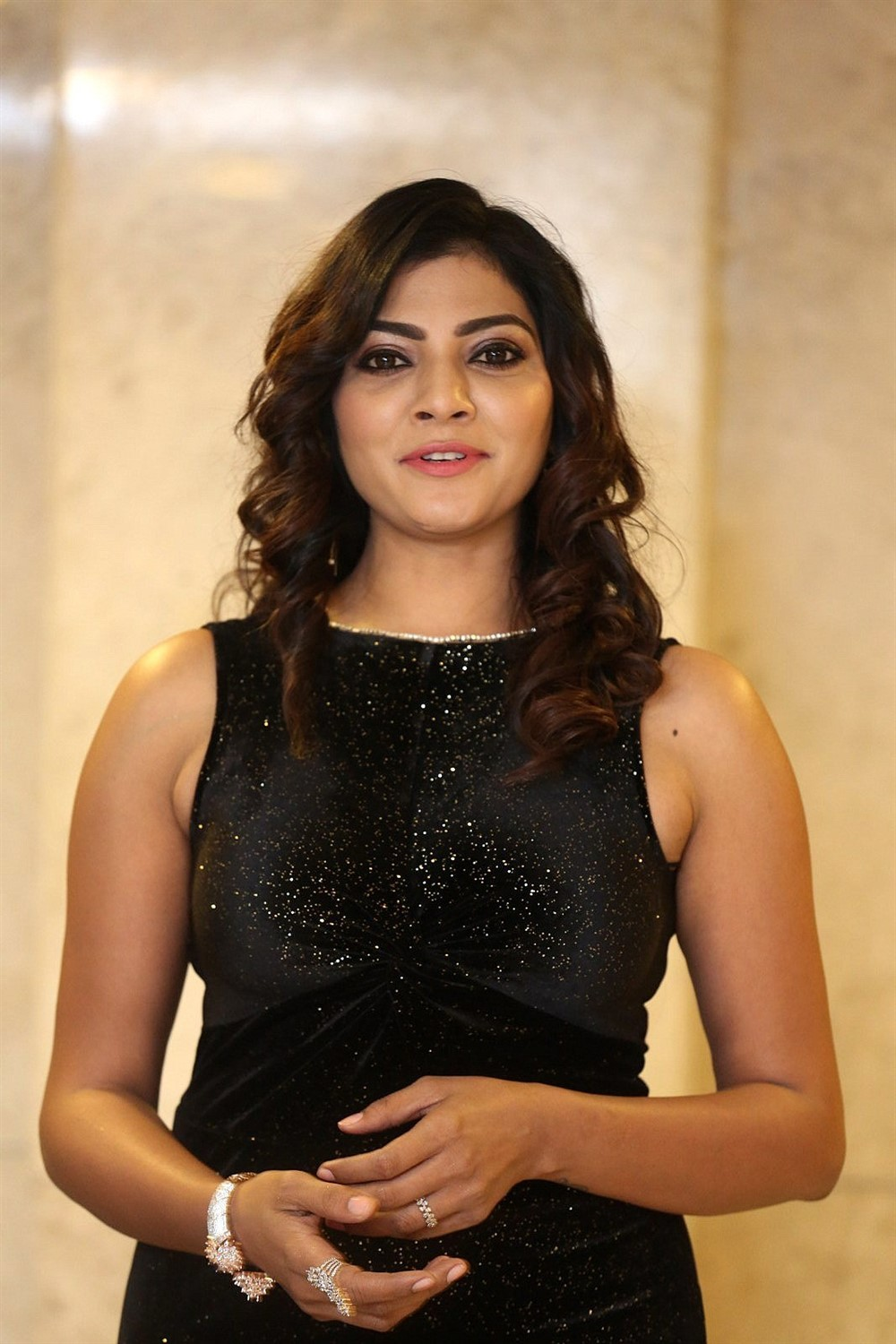 Actress Lahari Shari Photos @ Thippara Meesam Pre Release
