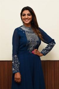Actress Lahari Shari Photos @ Zombie Reddy Pre-Release