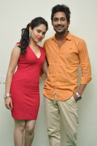 Malobika Banerjee, Varun Sandesh @ Laila O Laila Movie Press Meet Stills