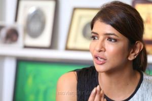 Actress Lakshmi Manchu Birthday Interview Photos