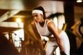 Actress Lakshmi Manchu Workouts in GYM Photos