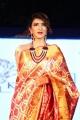Telugu Actress Lakshmi Manchu Ramp Walk Photos in Silk Saree