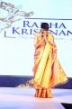 Actress Lakshmi Manchu in Silk Saree Ramp Walk Photos