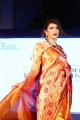 Actress Lakshmi Manchu Ramp Walk Photos @ Radha Krishnan Silk Sarees Fashion Show