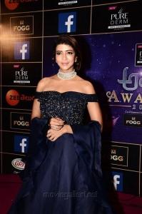 Lakshmi Manchu New Photos @ Zee Telugu Apsara Awards 2018 Pink Carpet