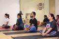 Actress Lakshmi Manchu promotes Yoga at Hatam Yoga Studio Photos