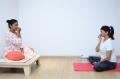Actress Manchu Lakshmi Yoga Photos