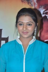 Lakshmi Menon New Stills at Pandianadu Movie Press Meet