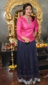 Actress Lakshmi Menon Images in Pink Top & Black Long Skirt