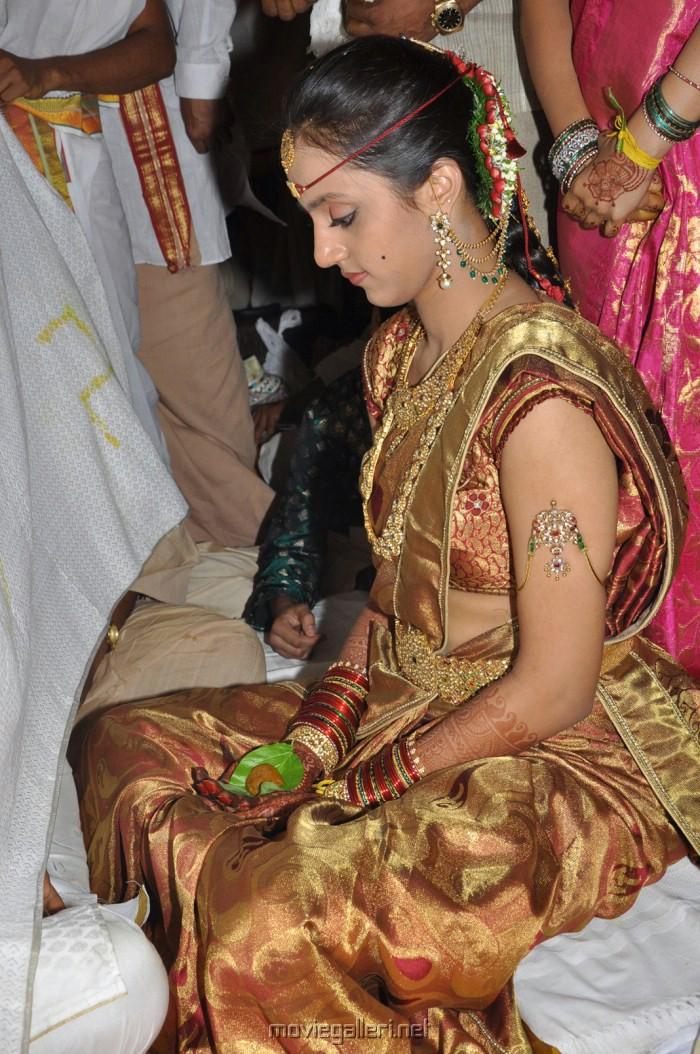 Tamil serial actress wedding photos