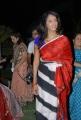 Manchu Lakshmi Prasanna in Red Saree Stills