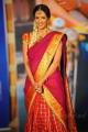 Lakshmi Manchu in Silk Saree Photos at Gundello Godari Audio Launch