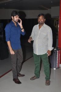 Naga Sourya @ Lakshmi Raave Maa Intiki Premiere Show at Cinemax