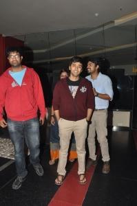 Vennela Kishore, Rahul Ravindran @ Lakshmi Raave Maa Intiki Premiere Show
