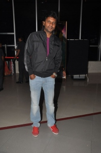 Sathyam Rajesh @ Lakshmi Raave Maa Intiki Premiere Show at Cinemax
