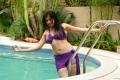 Lakshmi Rai Hot Bikini Images in Adhinayakudu
