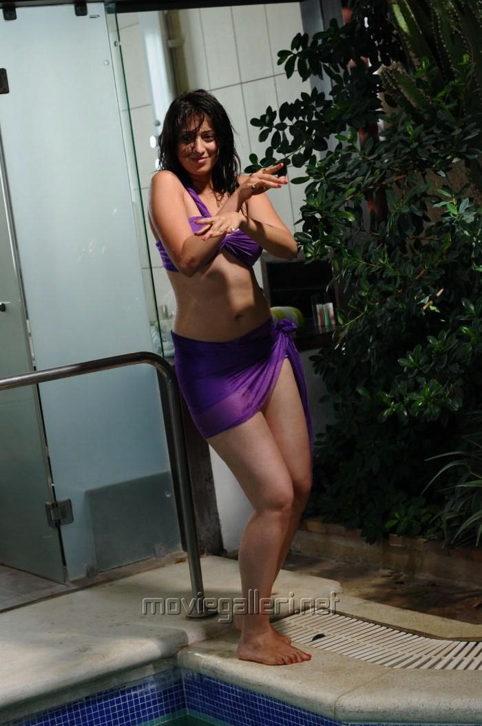 Lakshmi Rai Hot Bikini Pics in Adhinayakudu