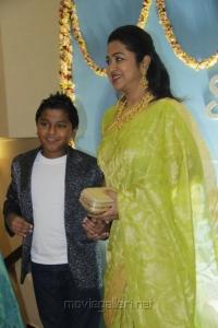 Raadhika @ Lakshmi Ramakrishnan Daughter Wedding Reception Photos