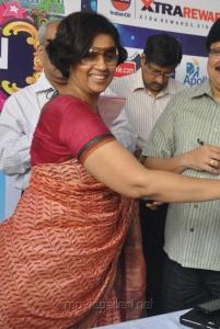 Lakshmi Ramakrishnan in Saree Stills