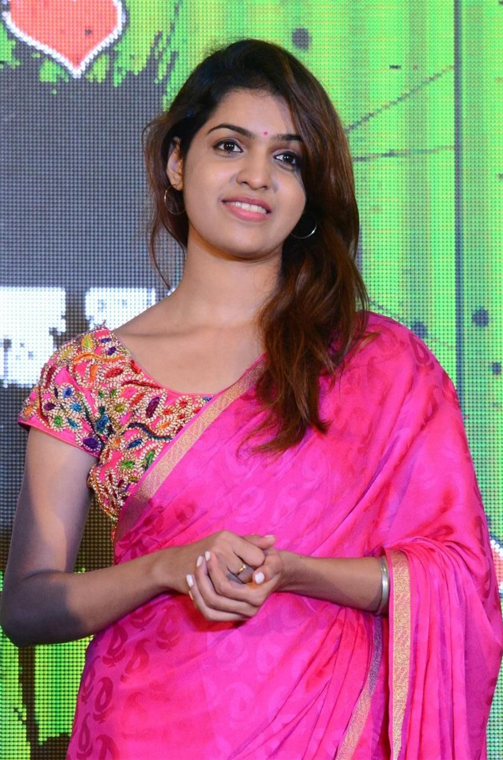 Actress Neha Ratnakaran @ LaliJo LaliJo First Look Launch Stills