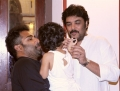 Sundar C @ Lalitha Shobi Daughter Syamantakamani Ashvika 2nd Birthday Celebration Photos