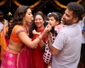 Actress Catherine Tresa @ Lalitha Shobi Daughter Syamantakamani Ashvika 2nd Birthday Celebration Photos