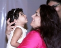 Kushboo @ Lalitha Shobi Daughter Syamantakamani Ashvika 2nd Birthday Celebration Photos